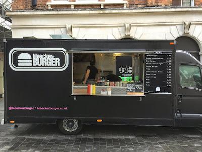 bleecker st burger, old spitalfields market
