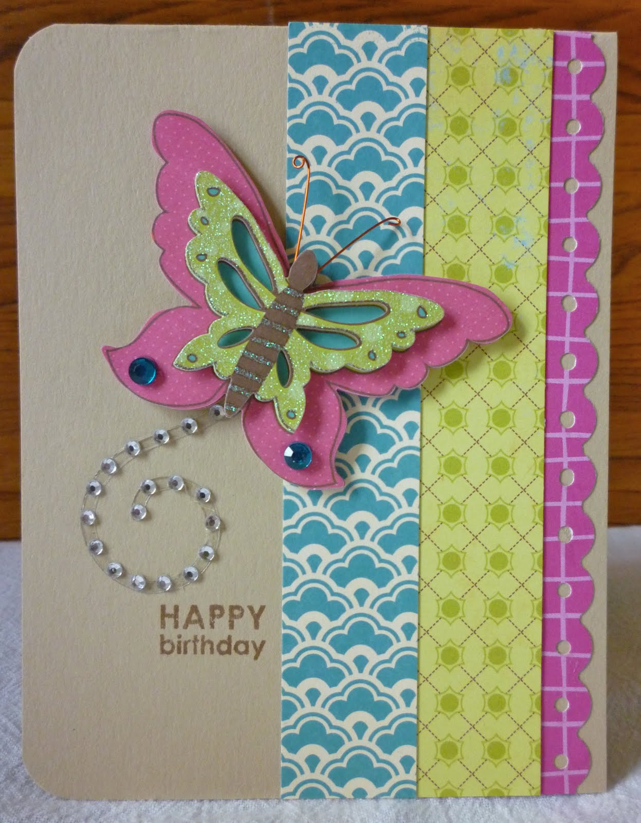 Bits baubles bliss a quick cute birthday card bookmarktalkfo Choice Image