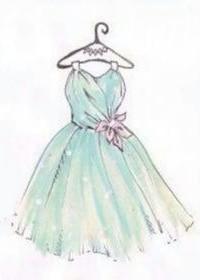 Нарисуй платье для выпускного!