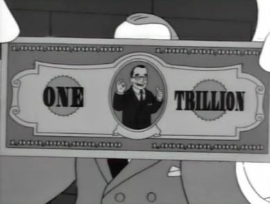 Billete Trillón de Dólares