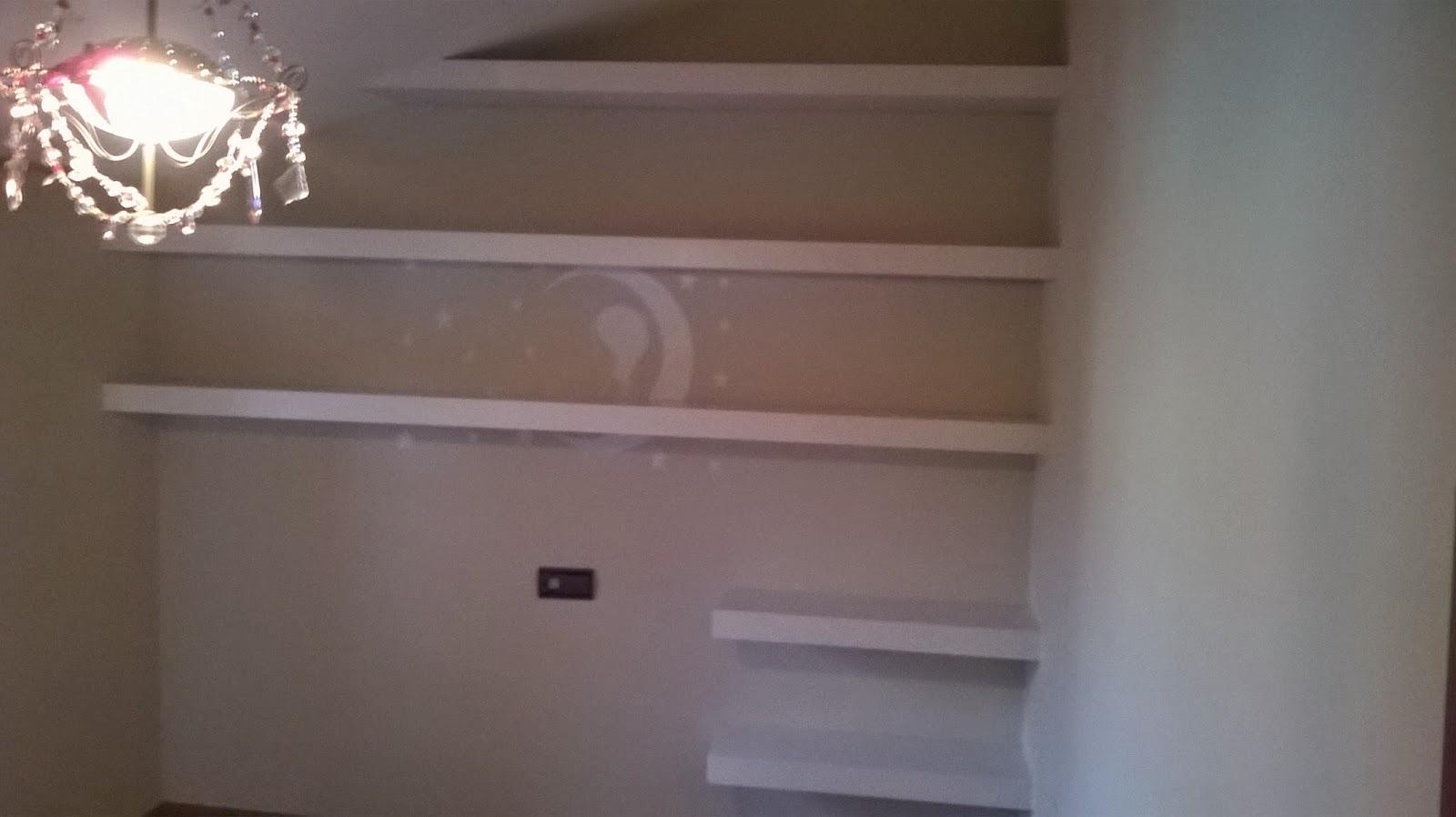 Estanter as a pared para una habitaci n fitted floating shelves el garaje de la madera - Estanterias para garaje ...