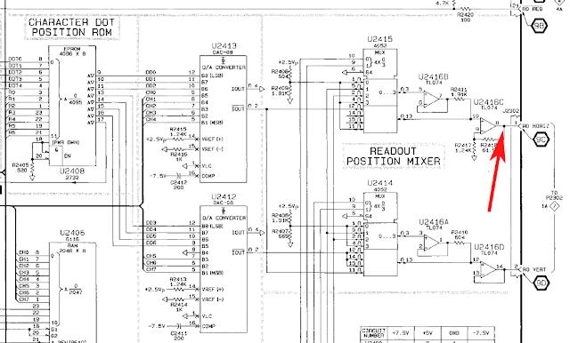 playing with bits  tektronix 2246 repair part ii