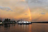 Rainbow in Brunei