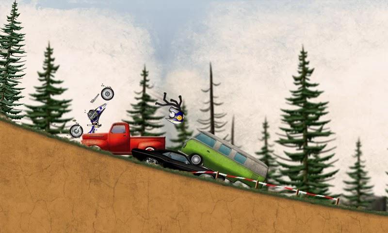 Stickman Downhill - Motocros v1.6 [Full]