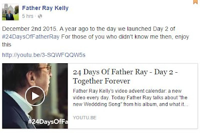 Facebook Father Ray Kelly