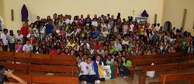 Encontro Regional da Juventude e Adolescência Missionária desperta diocese de Tocantinópolis/TO para a missão
