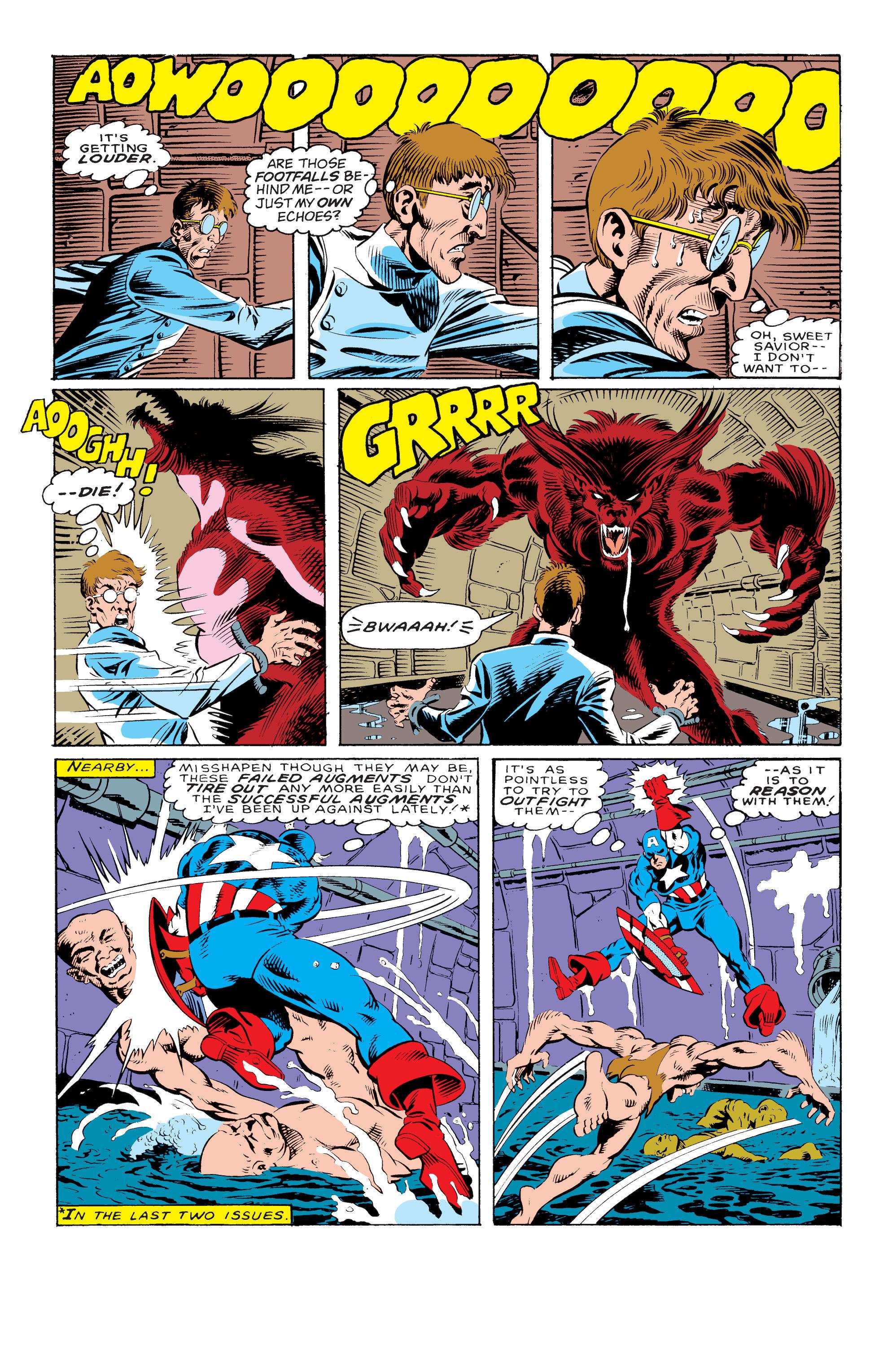 Captain America (1968) Issue #330 #259 - English 5