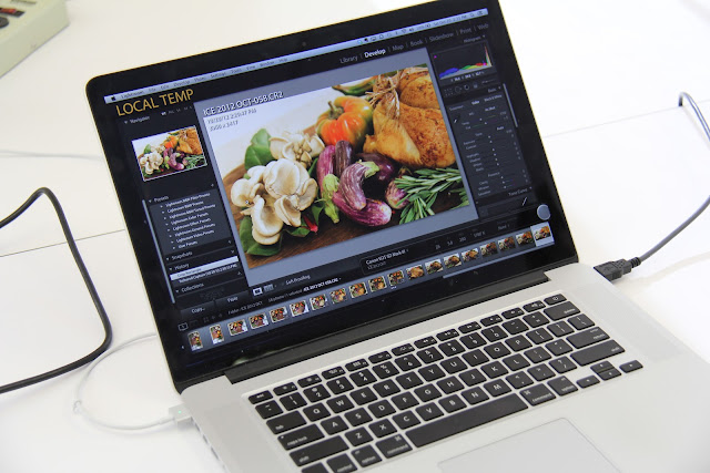 Food Styling and Photography - Ratatouille in the Making Photoshop II