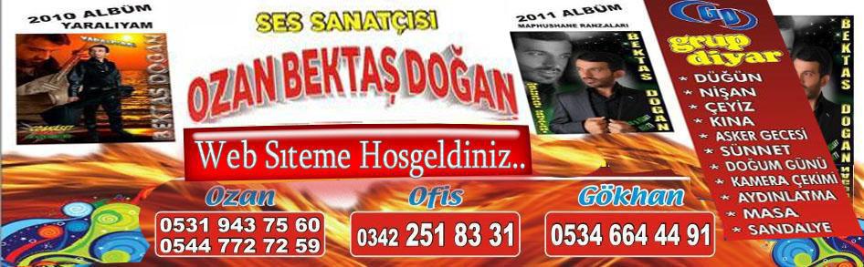 Ses Sanatcısı Ozan Bektaş Dogan Web Sitesi