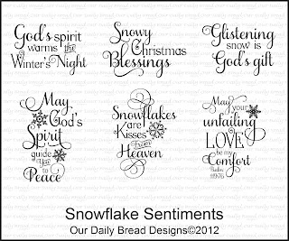 "Our Daily Bread designs ""Sparkling Sentiments"""