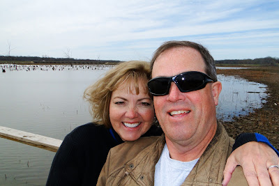 Patti and Dave at Lake Fork, Texas