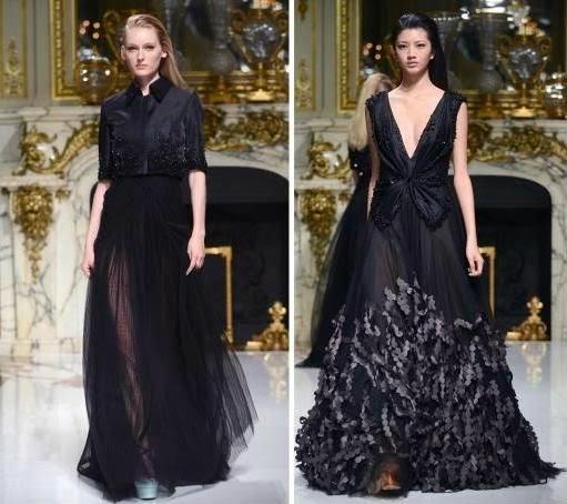 فستان شارلوت ليشا الأسود ، موديل فساتين شارلوت ليشا