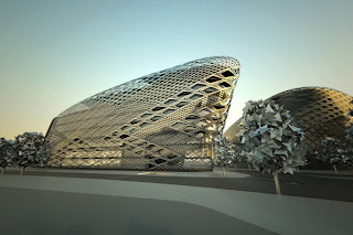 Zaha Hadid. Essen ThyssenKrupp