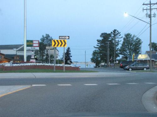 Silver Lake roundabout