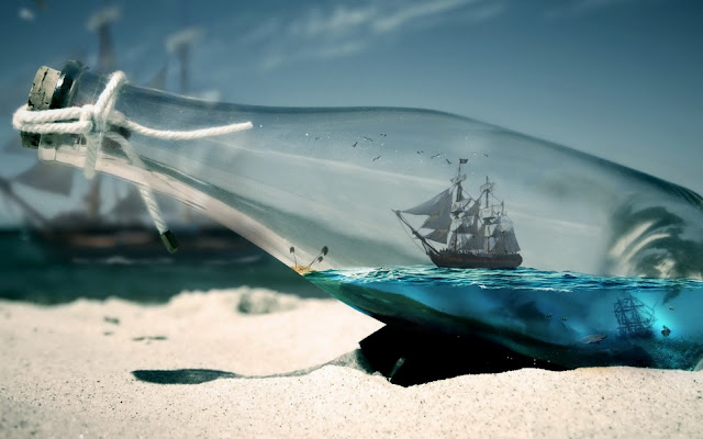 Boat Inside Bottel, Pirates
