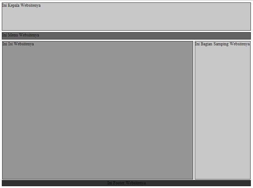 Mengatur Halaman Website dengan CSS