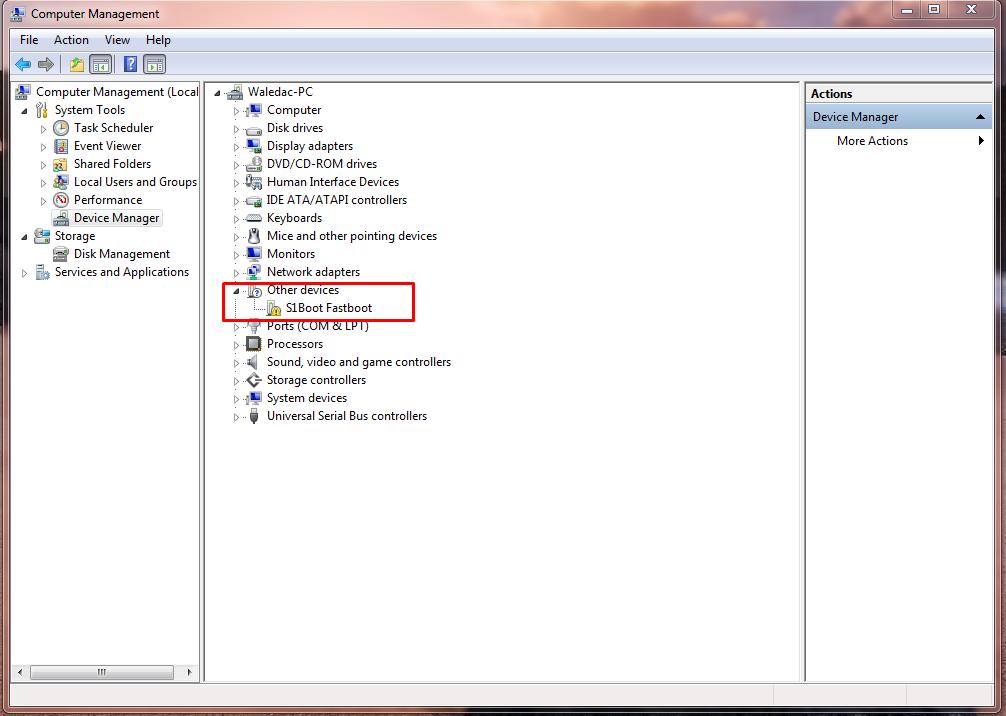 S1boot Fastboot драйвер скачать для Sony Xperia - фото 4