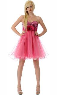 Vestido rosa lindo