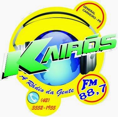 Rádio Kairós FM de General Carneiro PR ao vivo