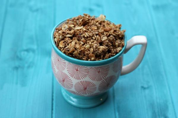 Homemade Steel Cut Granola