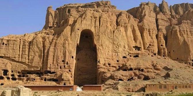 Patung Buddha Bamiyan, Afghanistan