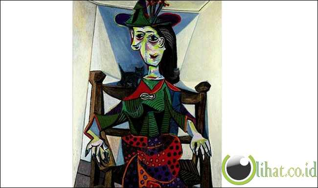 Dora Maar au Chat oleh Pablo Picasso