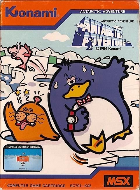 Retrojuegos #6 - Antarctic Adventure