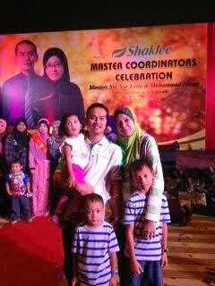 Bersama Keluarga di MasCel Master Laila di Pullman Hotel, Putrajaya
