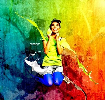 Colorful Photo Manipulation Dengan Photoshop