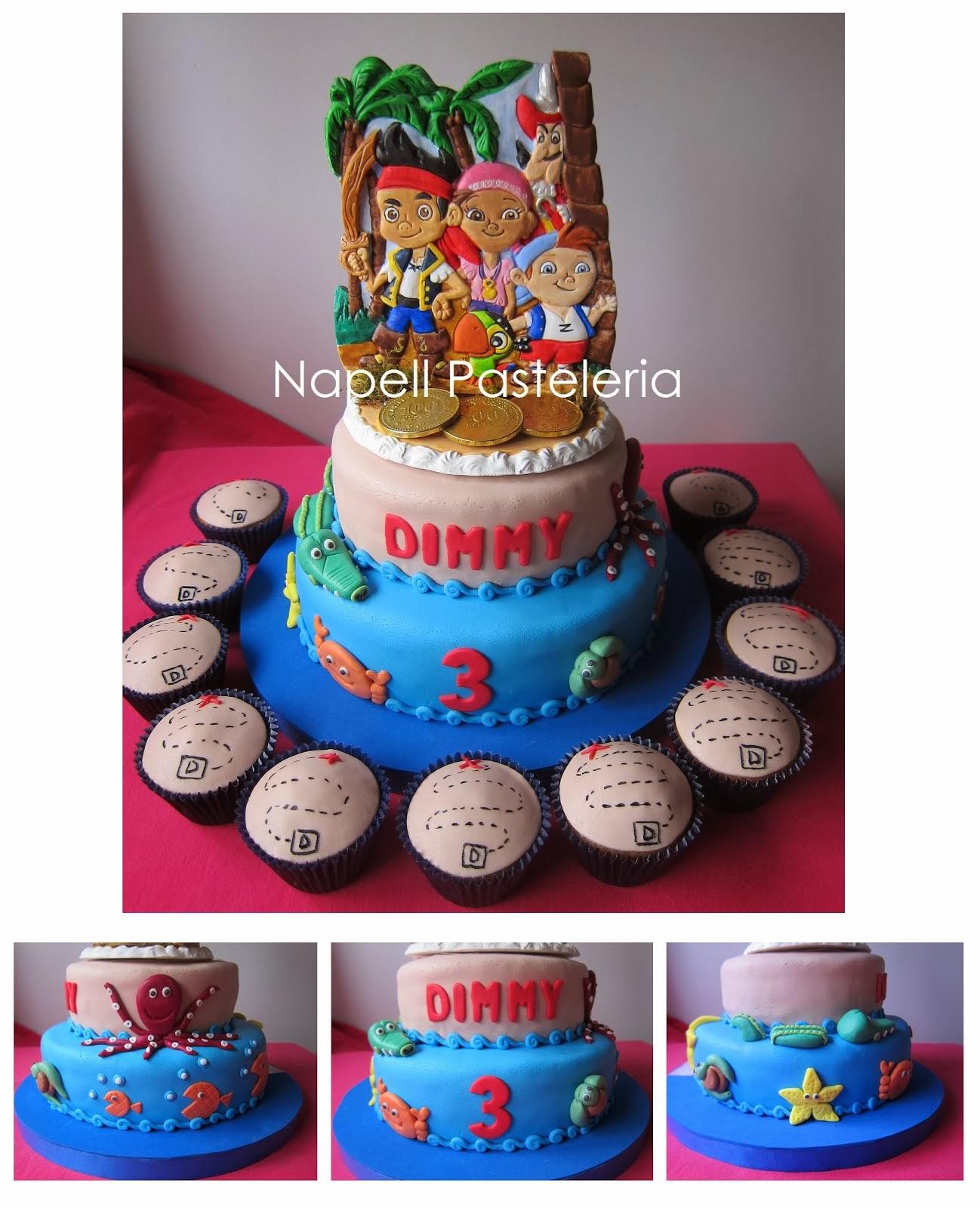 Torta Isla Pirata