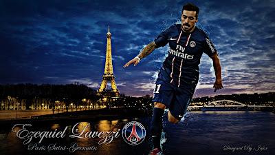 Paris Saint-Germain FC Squad - Ezequiel Lavezzi