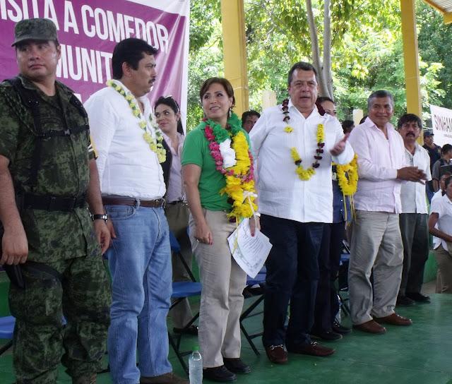 Sd Ngel Aguirre Y Rosario Robles Instalaron Un Comedor