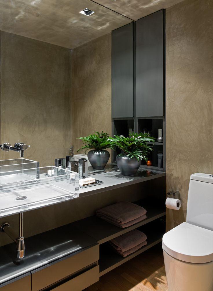 Lavabo No Banheiro : Flores e plantas no banheiro ou lavabo jeito de casa