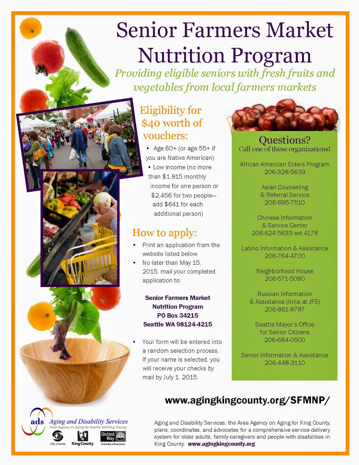 Wic and sfmnp coupons