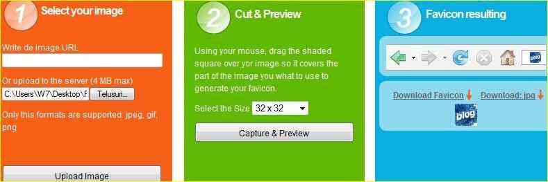 Cara Membuat Mengganti Favicon Site Icon Blog http://blogbelajar2.blogspot.com/