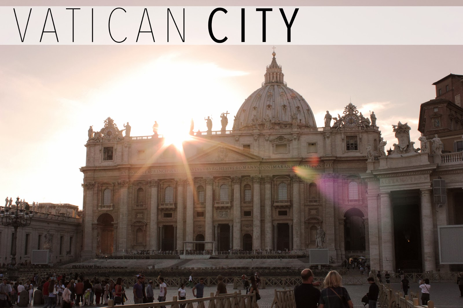 St Peter's Basilica, Vatican City in Italy