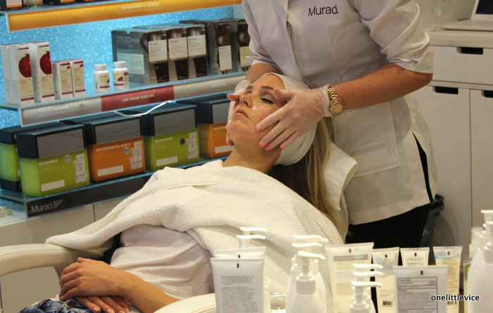 one little vice beauty blog: murad launch treatment room kingston john lewis