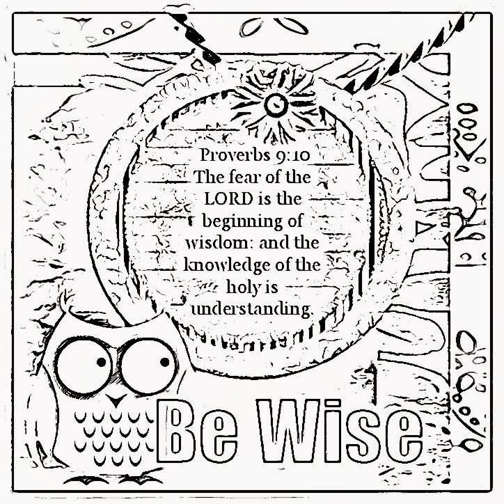 kids coloring pages on wisdom - photo#3