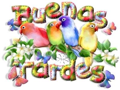 tarjetas de buenas tardes para amigos bellos
