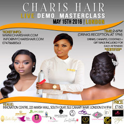 Charis Hair Live Demo/Masterclass