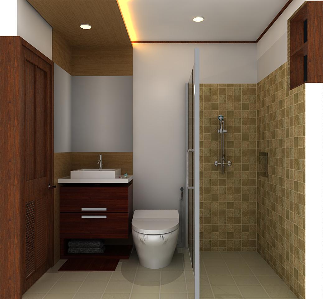 Interior Kamar Mandi Rumah Tinggal Pak Wahyu Bandung Interior Kamar