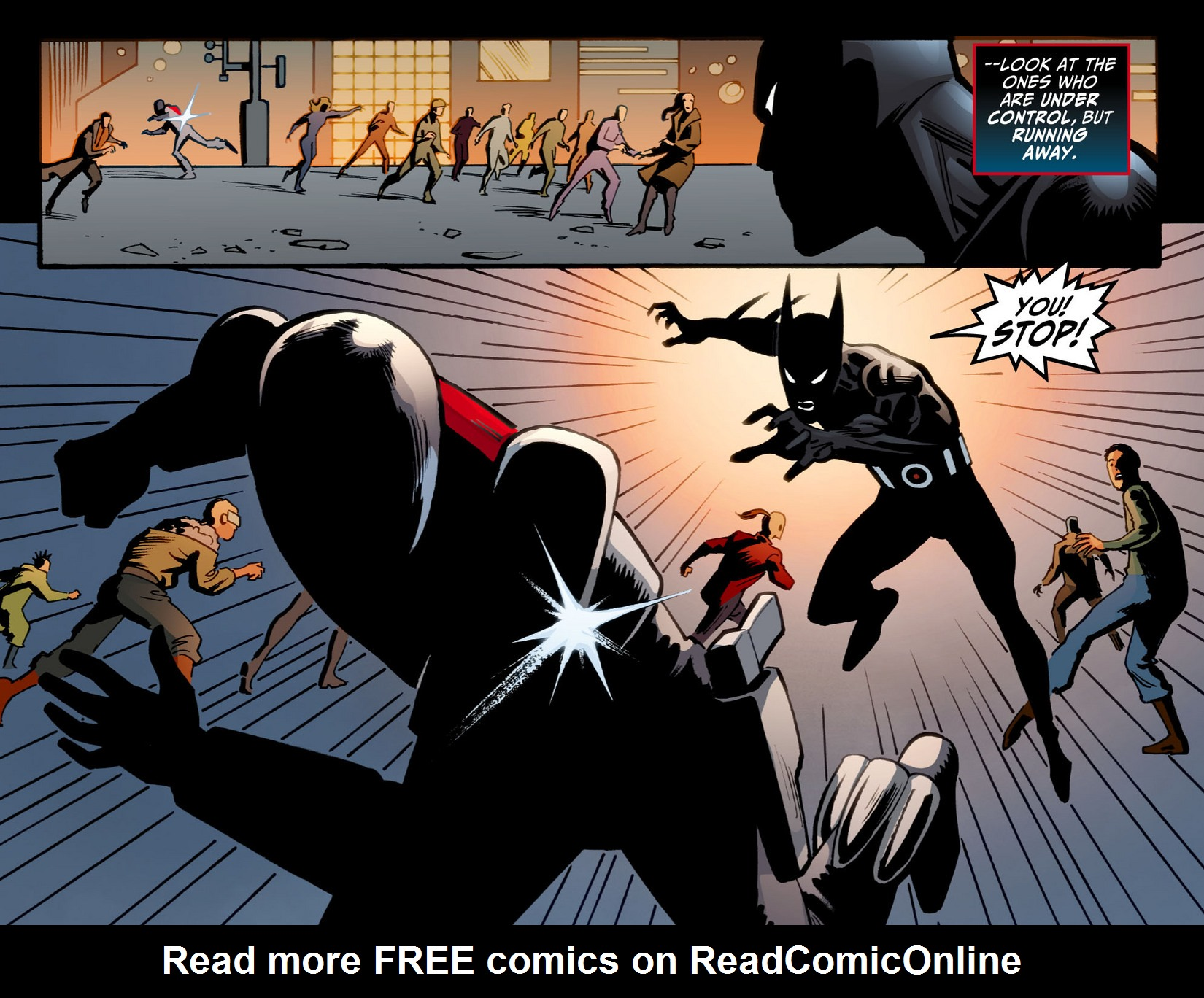 Batman Beyond (2012) Issue #11 #11 - English 16