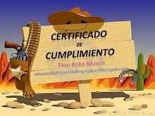 Certificado de Cumplimiento.....!!!