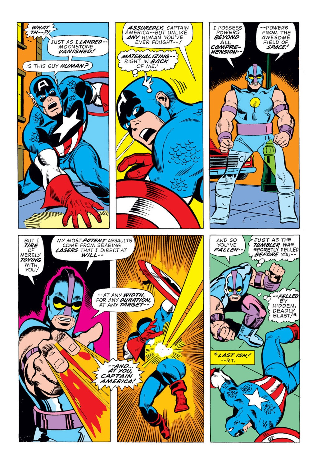 Captain America (1968) Issue #170 #84 - English 7