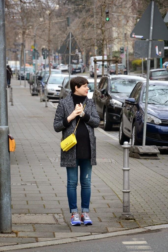 MCM crossbody yellow bag, Frankfurt am Main, Mode Blogger aus Frankfurt