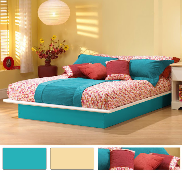 Turquoise bedroom decorating ideas the interior designs for Turquoise bedroom decor