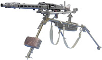 MG42 medium machine gun MMG