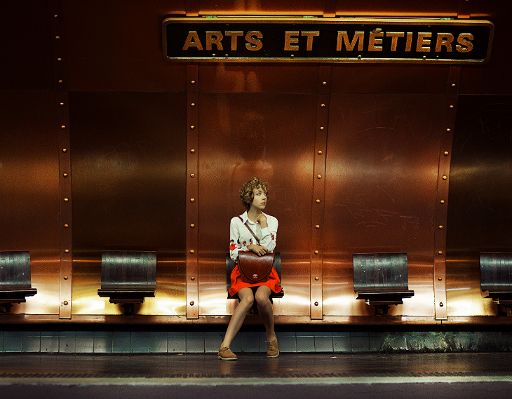 fashion photography, outfit of the day, Paris, métro Arts et Métiers, das Sheep, tidebuy review