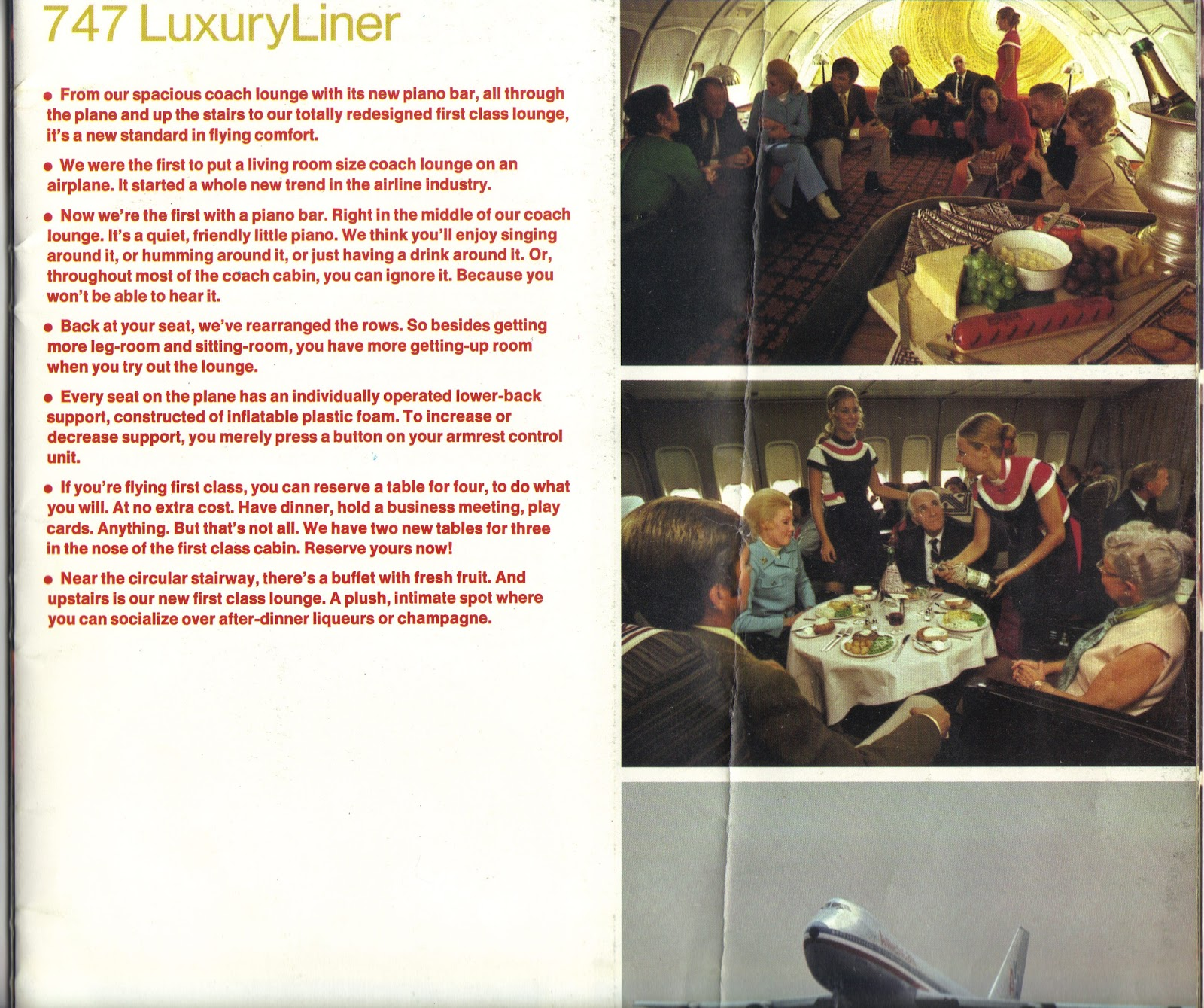 Most Luxury Airlines American Airlines 747 Luxury