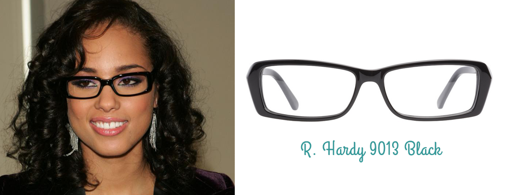 Alicia Keys lunettes montures R Hardy ClearlyContacts.ca